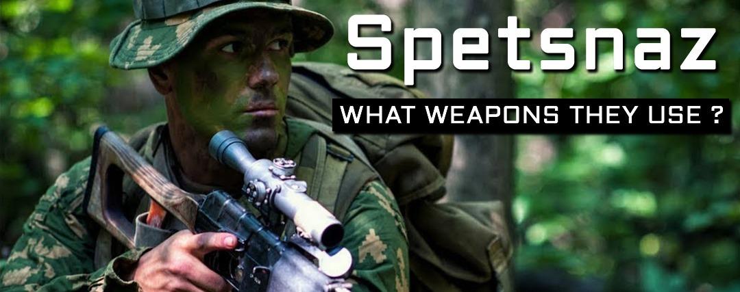 what guns use sptesnaz ?