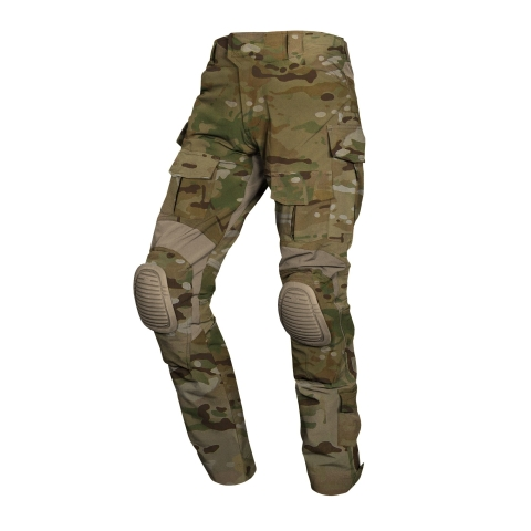 multicam combat pants with knee pads