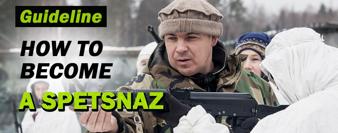 How to become spetsnaz