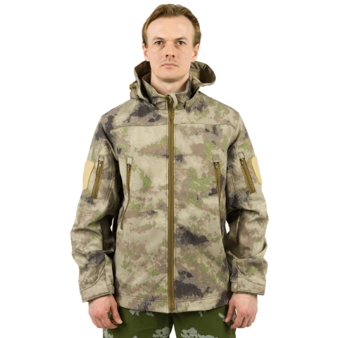 Softshell Camo Jacket for Men