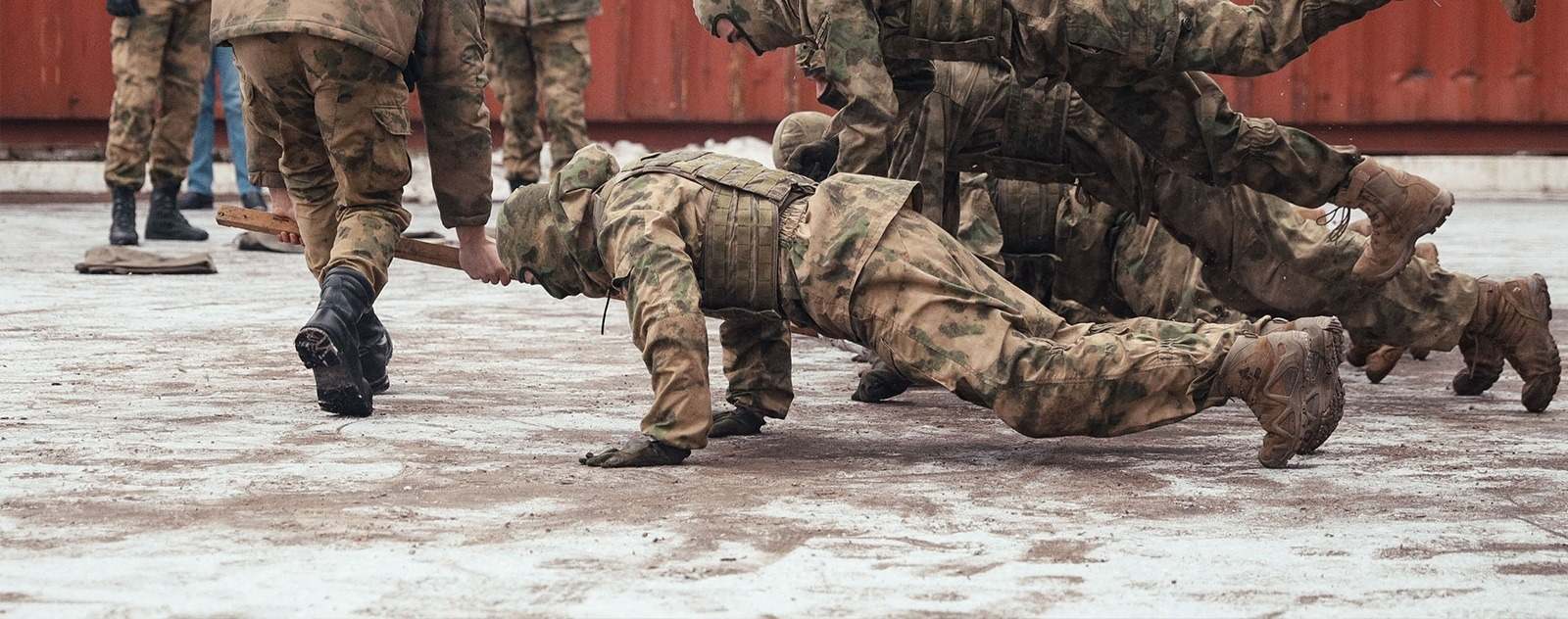 what is spetsnaz training like