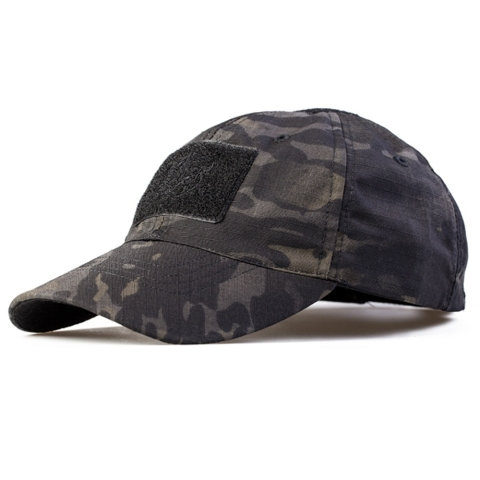 multicam black baseball cap