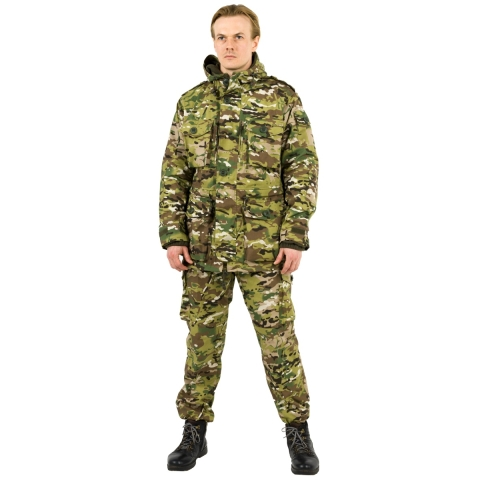 S Windproof Smock Multicam
