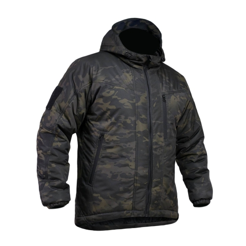 Black Multicam Rain Jacket