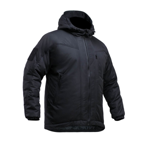 Black Military Waterproof Jacket