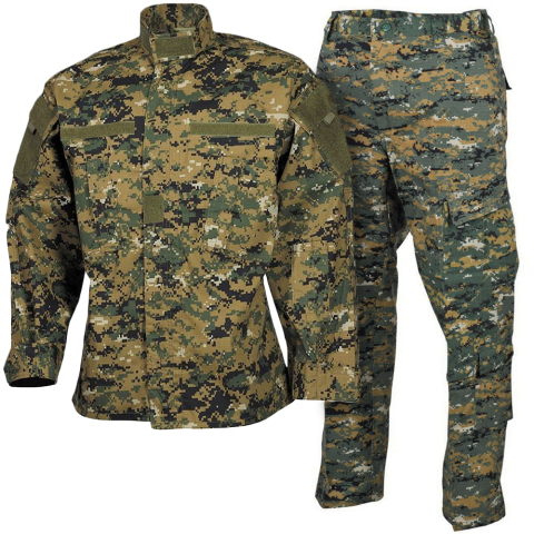 Woodland Marpat Uniform