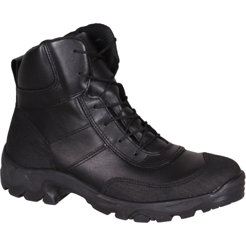 Mid High Leather Military Shoes
