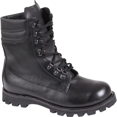 Fur Lined Military Boots