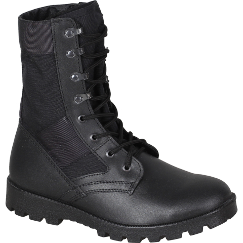 Light Military Boots Black