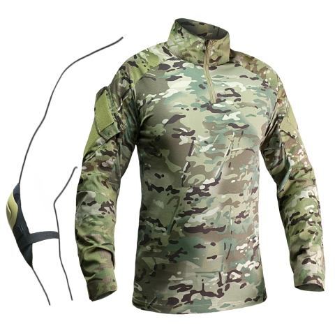Combat Shirt with Elbow Pads