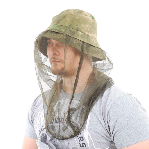 Boonie Hat A-Tacs-FG with Mosquito Netting