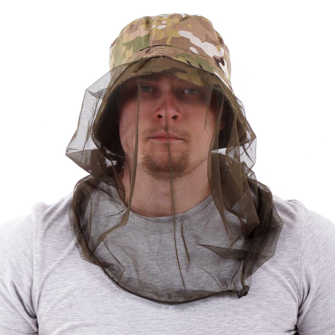 Boonie Hat Multicam with Mosquito Net