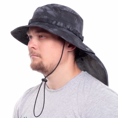 Military Boonie Hat with Neck Flap