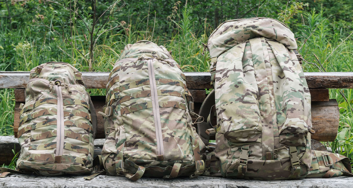 Russian military backpacks