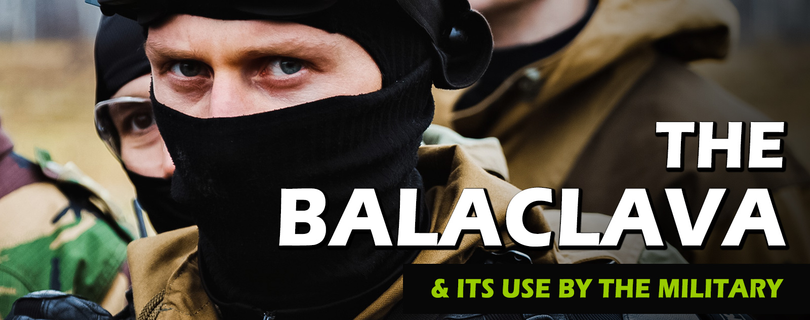 balaclava in the military